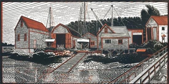 Benjamin River Boat Yard