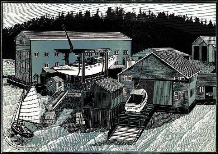 Brooklin Boat Yard, Past & Present
