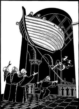 Flying Boat of Clonmacnoise
