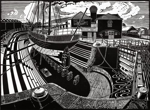 T. Nielsen Shipyard, Gloucester Docks