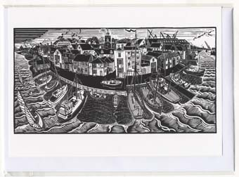 Wivenhoe folding card