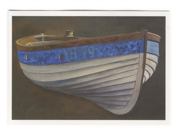 Norfolk Crabber, Study folding card