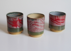 Special Fleck clay, various glazes.